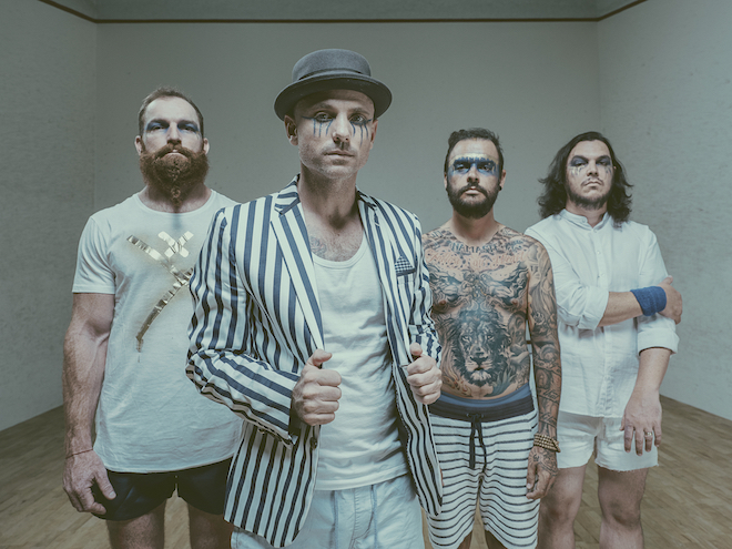 The Parlotones PressPic 2 by Andre Badenhorst SLIDE